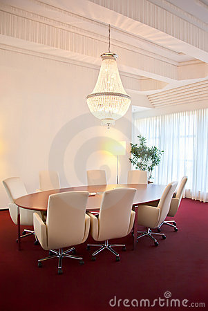 Luxury meeting room