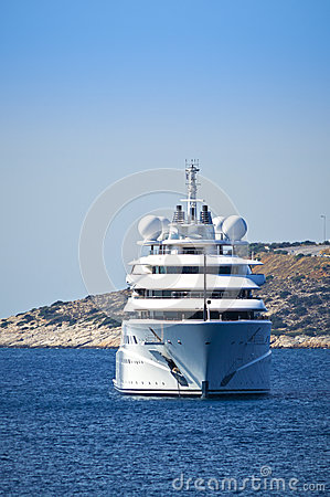Free Luxury Mega Yacht Stock Photo - 60979430