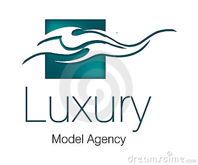 Luxury Model Agency Logo