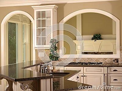 Luxury Model Home Kitchen Island Image Image 5348461 – Model Home Kitchens