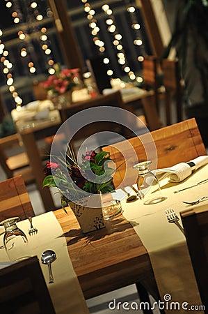 Free Luxury Modern Indoor Restaurant Royalty Free Stock Image - 7681816