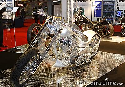 Luxury motorcycle Editorial Stock Photo