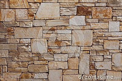 Luxury Natural Stone Brick Wall Pattern Background