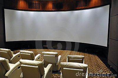 Luxury projection hall