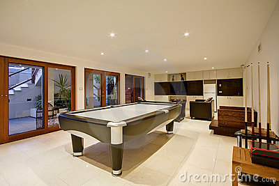 Luxury Recreation Room