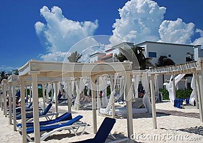 Luxury Resort Beach in Mexican Riviera