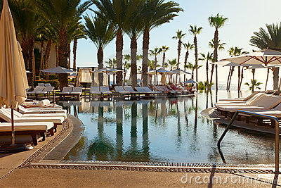 Luxury Resort in Cabo San Lucas, Mexico Editorial Photo