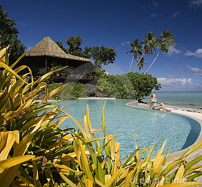 Luxury resort - Cook Islands - South Pacific