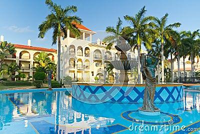 Luxury resort of Mexico
