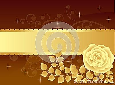 Luxury rose background