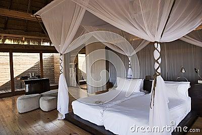Luxury safari hotel in Botswana