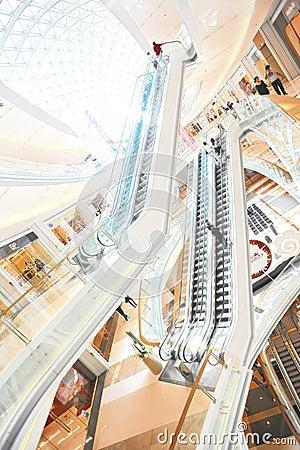 Luxury shopping center Editorial Photo
