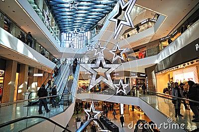Luxury shopping center in innsbruck editorial image for Interior design innsbruck