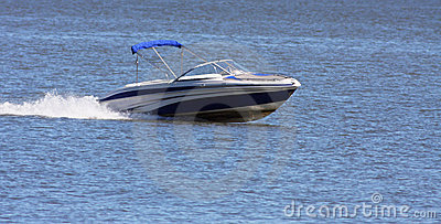 Luxury speed boat