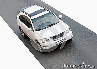Luxury sport crossovк suv car