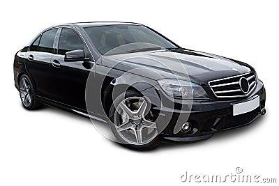 Luxury Sports Saloon car