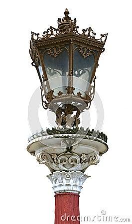Free Luxury Street Light Post Stock Image - 8236891