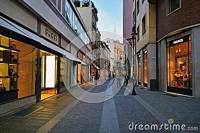 Luxury street Editorial Image