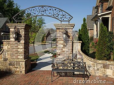 Luxury Subdivision Arch Gateway