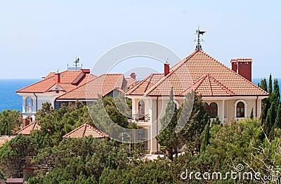 Luxury summer house
