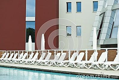 Luxury swimming-pool