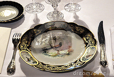 Luxury Tableware for royal palace