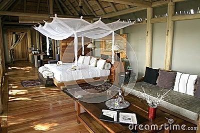 Luxury tent camp