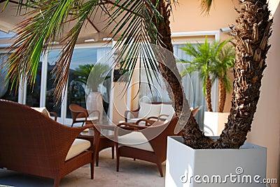 Luxury terrace