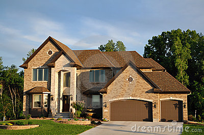Luxury Two Story Suburban Executive Home