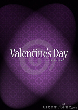 Luxury valentines background