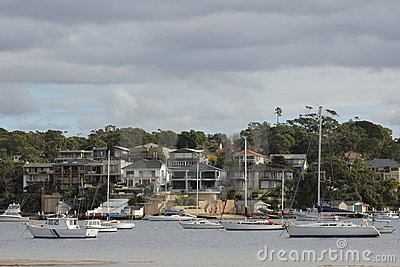 Luxury Villas And Sailing Boats Royalty Free Stock Image - Image: 19957006