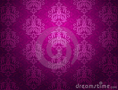 Luxury violet ornamental pattern