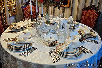 Luxury wedding dinner reception table royalty free stock - Monoprix art de la table ...