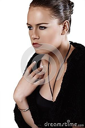 Luxury Woman portrait.