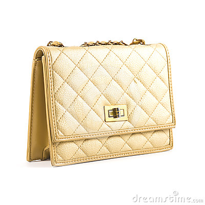 Luxury women bag  over white
