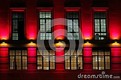 Luz de la fachada