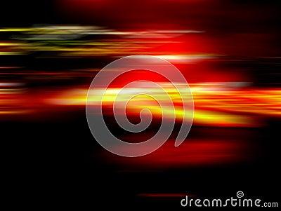 Luz en el movimiento