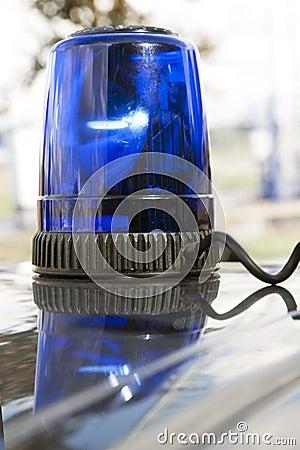 Luz que contellea de la emergencia