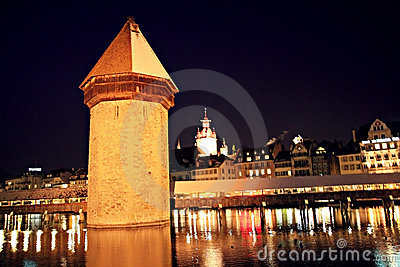 Luzern old tower