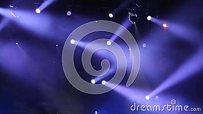 Luzes do disco vídeos de arquivo
