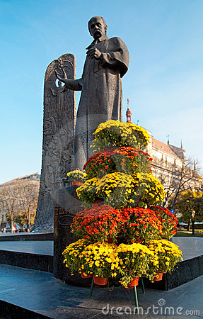 Lviv city scene