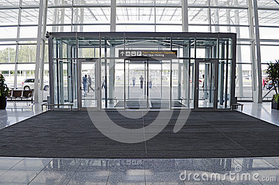 Lviv International Airport Editorial Stock Image