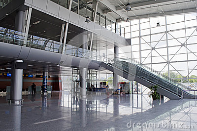 Lviv International Airport Editorial Image