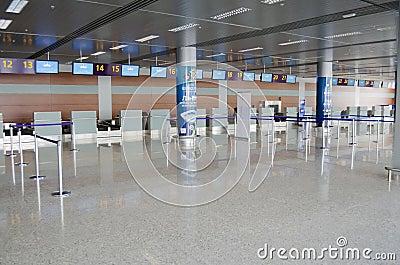 Lviv International Airport Editorial Image