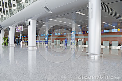 Lviv International Airport Editorial Photography