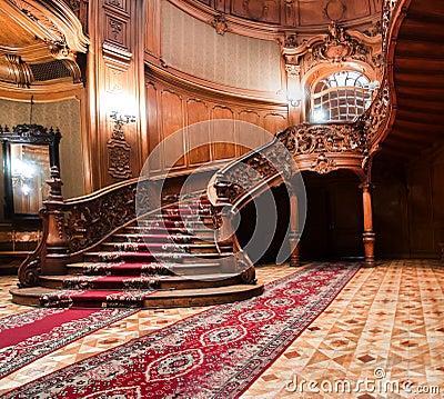 Free LVIV, UKRAINE - 16 November, 2015: House Of Scientists - A Former National Casino. November 16, 2015 Lviv, Ukraine. Stock Photos - 77852483