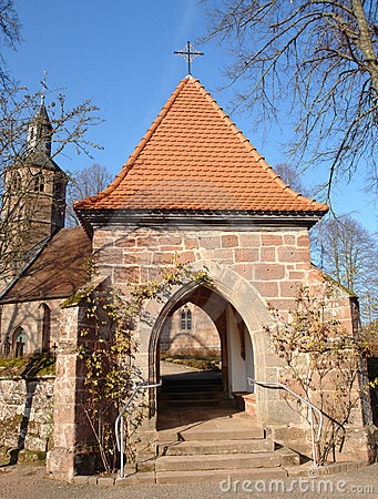Free Lychgate Stock Photo - 609040