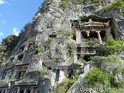 Lycian ruins in Turkey