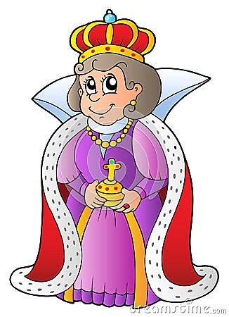 Lycklig drottning