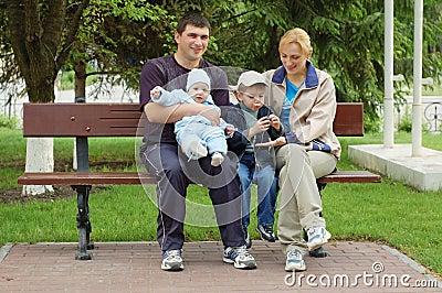 Lycklig familj